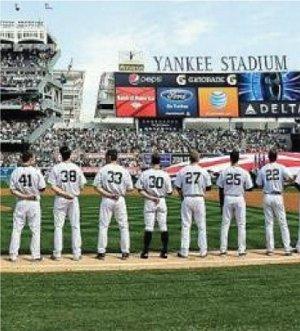 NY Yankees Team Photo